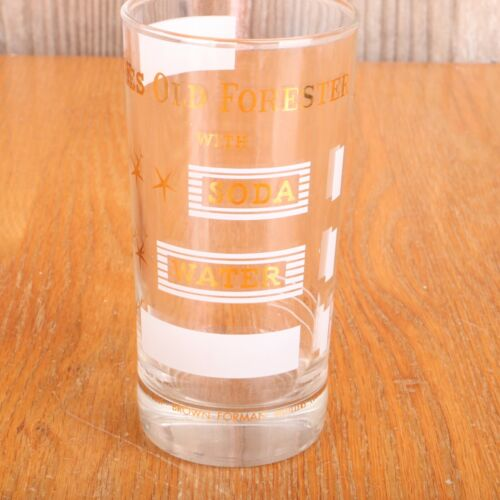 Likes Old Forester Glass Tumbler Kentucky Straight Bourbon Whiskey Highball