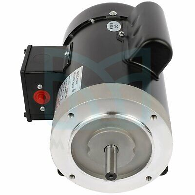 1750 Rpm 1hp Single Phase Air Compressor Electric Motor 230115 Volt