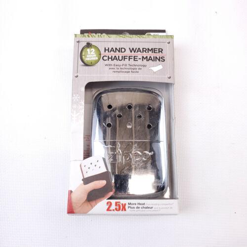Zippo Hand Warmer Chauffe-Main Silver 12 Hour NIB