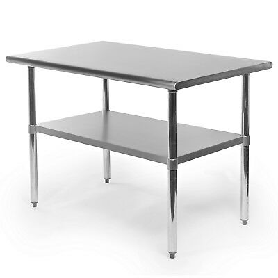 Commercial Stainless Steel Kitchen Food Prep Work Table - 30 X 48