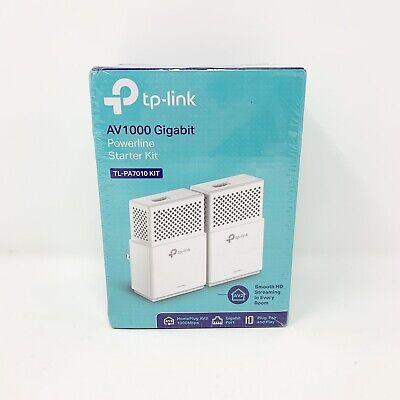 TP-Link TL-PA7010 Kit AV1000 Gigabit Ethernet 1000Mbps Powerline Starter Kit