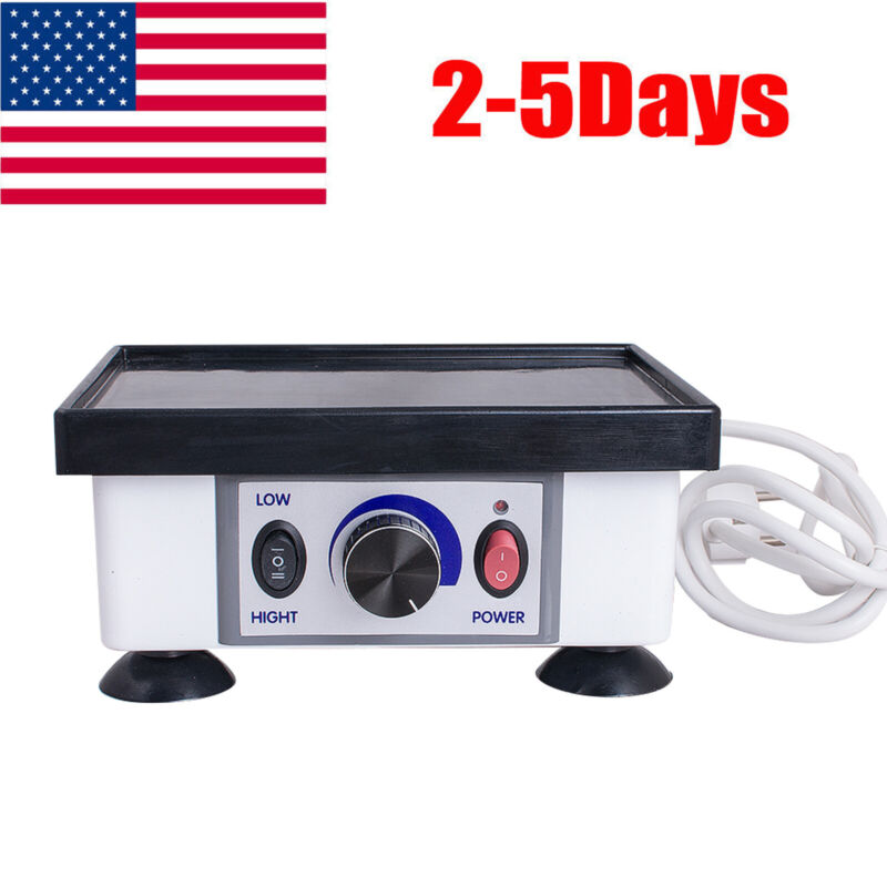 120W Dental Square Vibrator Vibrating Equipment Oscillator Shaker Lab Machine US