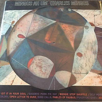 "Charles Mingus ""Mingus Ah Um"" NEW PICTURE DISC PRESSING Vinyl LP  - NEW & SEALED"