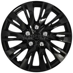 subaru impreza hub cap ebay Lifted Subaru Brat 15 set of 4 black wheel covers snap on full hub caps fit r15 tire steel rim fits subaru impreza