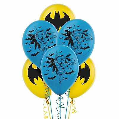 DC Batman Latex Balloons Party Supplies Decorations 12