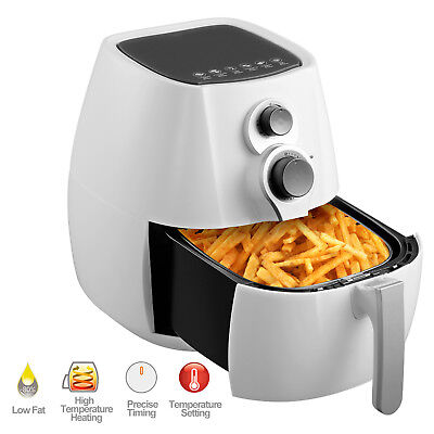 3.5l Electric No Oil Air Fryer Temperature Control Timer With 6 Cooking Presets
