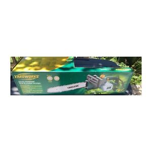 New YardWorks 14 inch Electric Chainsaw