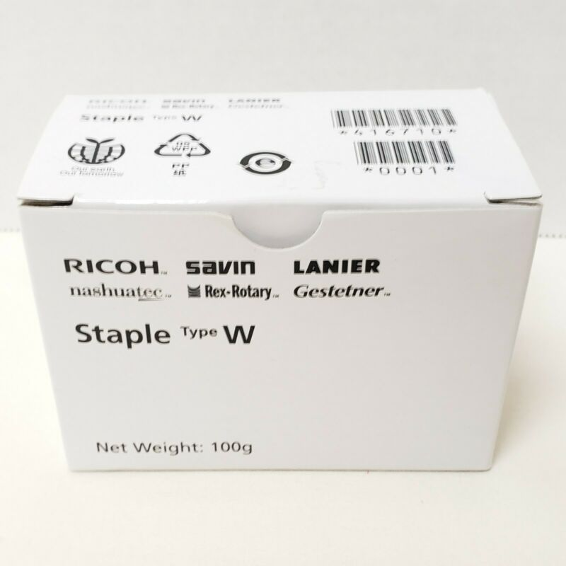 New Genuine Ricoh Savin Lanier Staple Type W 416710 Cartridge Assembly C178R-EXP