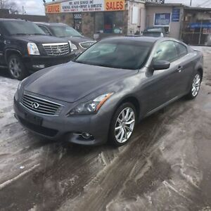 2012 Infiniti G37X Premium| AWD|Rear cam|No accidents|Leather
