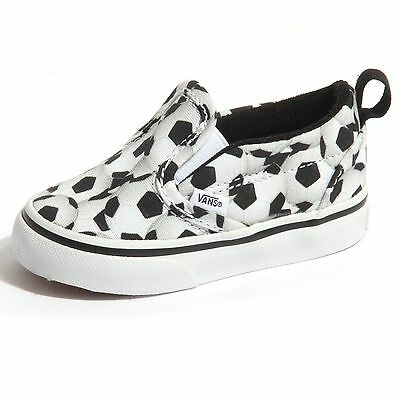 7c6056e1df9e9 Details about B0071 slippers bimbo VANS SLIP-ON V sneakers scarpe shoes  kids child