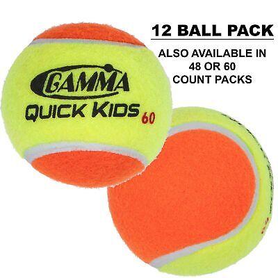 Tripack With Three Tubes Of Four Balls 12 Tennis Balls Durable Pressurized Balls