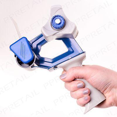"""PACKING TAPE GUN 50mm/2"""" Hand Dispenser Parcel Sealing Packaging Roll Cutter"""