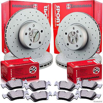 Zimmermann Sport Bremsscheiben & Beläge MERCEDES X164 W164 W251 Vorne & Hinten