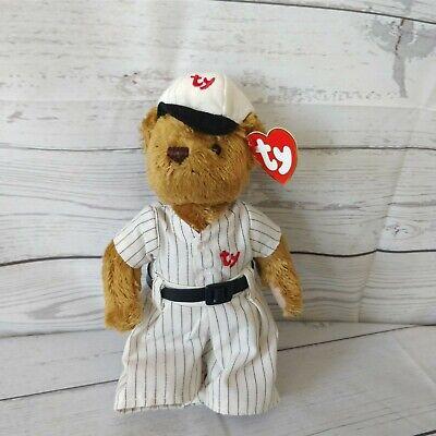 Regular Size - 8 inch TY Attic Treasures - MWMTs HUMPHREY the Brown Bear