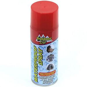 Waterproof Spray Fishing Camping Hiking Fabric Leather Cloth Shoe Boot 400ml