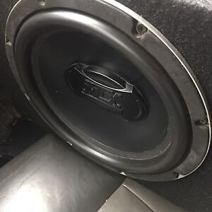 """^** MTX 10"""" SUBWOOFER IN BOX !! ONLY 89!"""