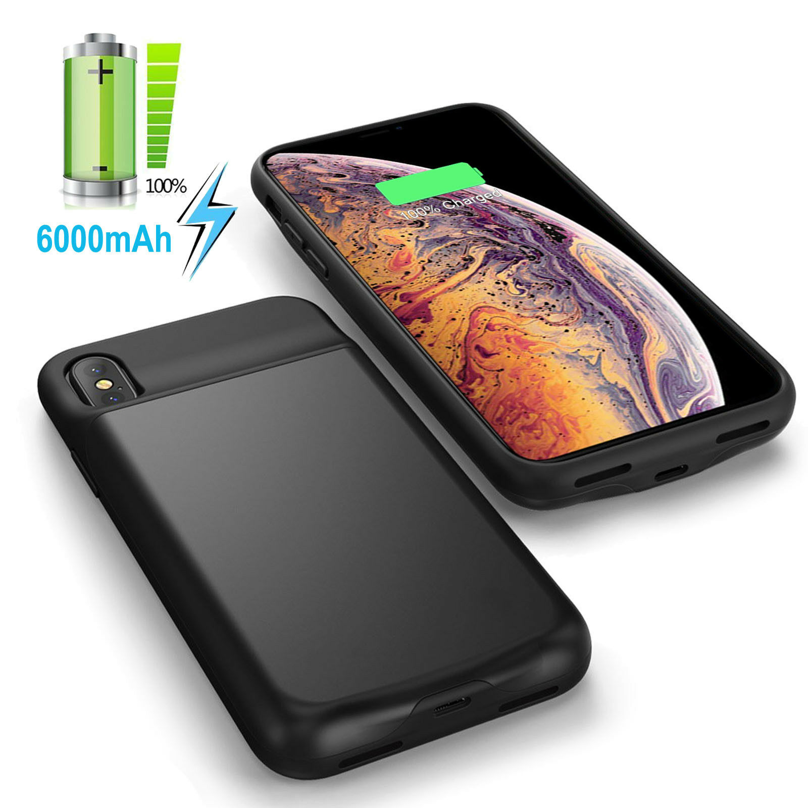 case for iphone 6 6s plus powerbank