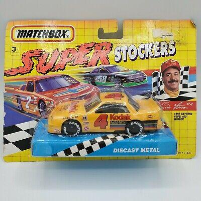 1992 Matchbox Super Stockers NASCAR Ernie Irvans #4 Kodak Lumina Diecast Car
