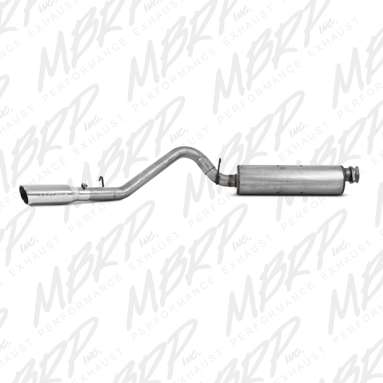 MBRP CAT BACK EXHAUST 2000-2006 JEEP WRANGLER RUBICON TJ 2