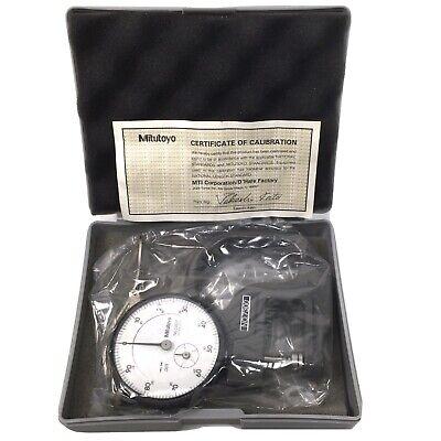 Mitutoyo No. 7300 Dial Indicator Gauge Micrometer Wcase Cal Certificate