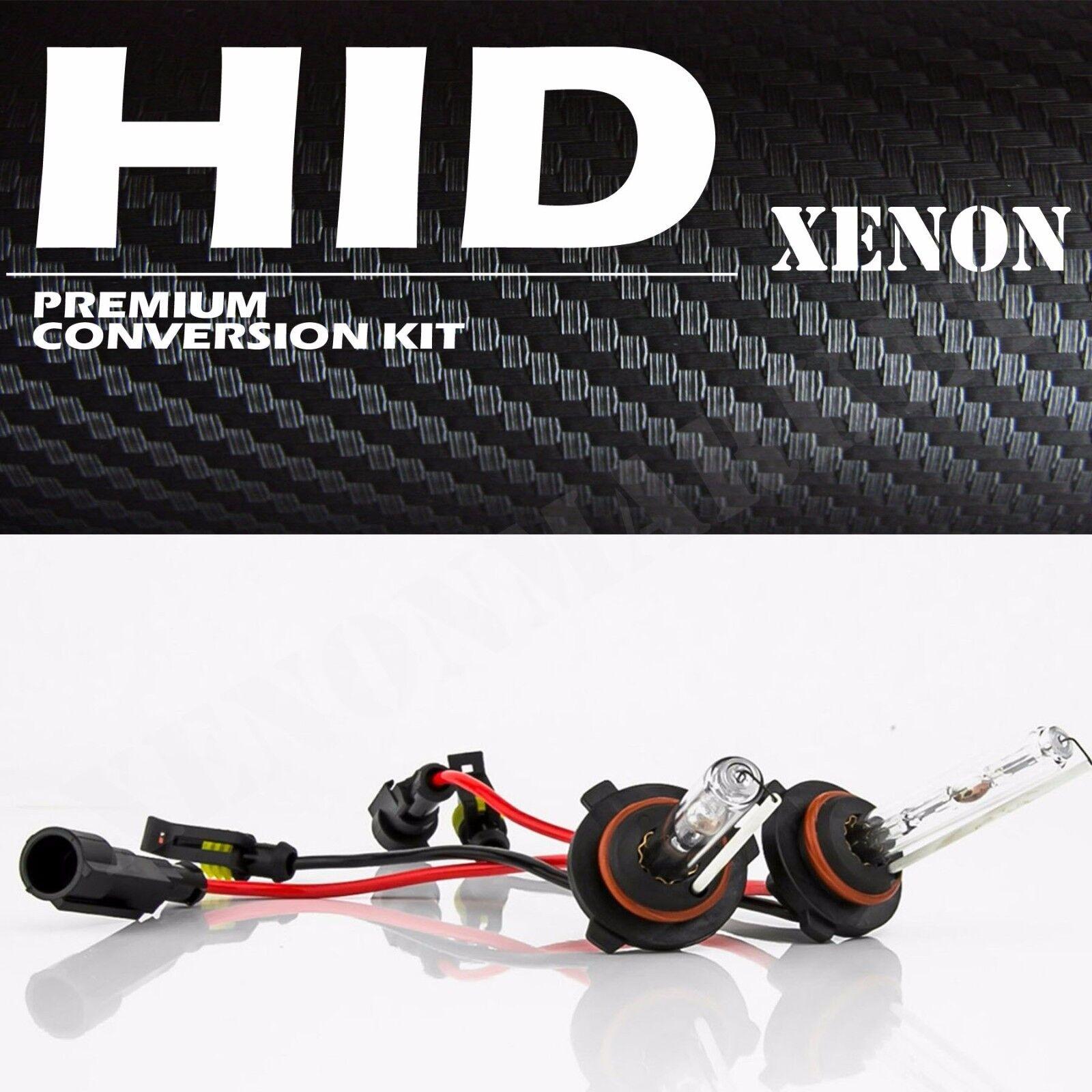 9006 9005 HID XENON KIT Headlight Conversion Slim Ballast H11 H4 White 6000k 6k