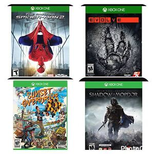4 Xbox one games for sale $20.00 each