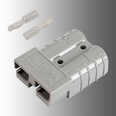 Batteriestecker Steckverbindung grau Anderson SB 50/Rema SR 50 A 14mm²