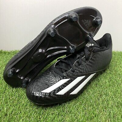 on sale 1eead 64df1 NEW Adidas Men s AdiZero 5 Star 5.0 Football Cleat AH1331 Black White Size  12