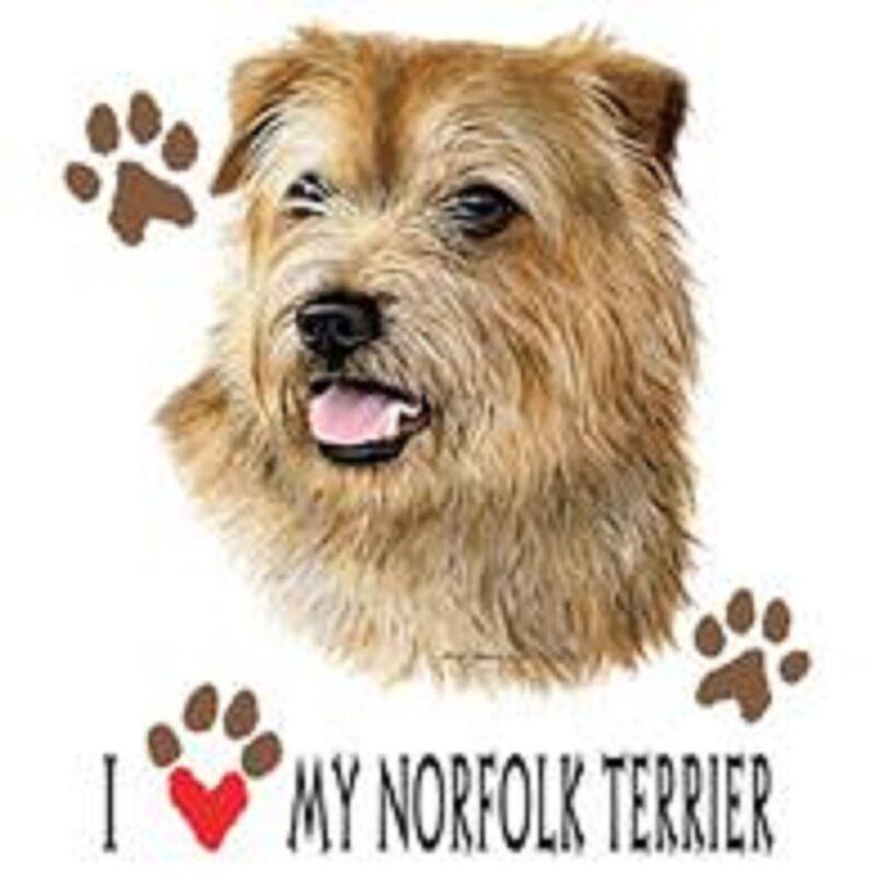 Norfolk Terrier Love Tote