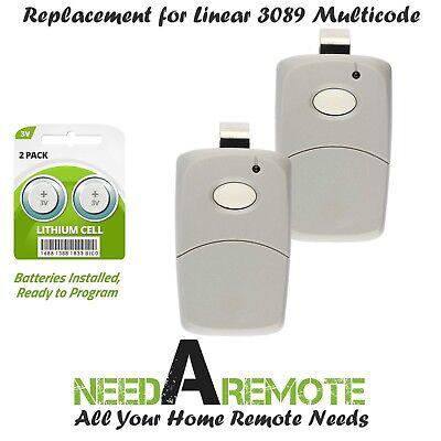 For Multi-Code 3089 2-Pack MultiCode 308911 Linear MCS308911