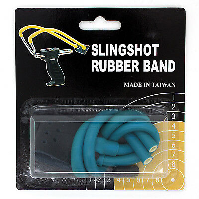 Slingshot Rubber - Wizard Slingshot Replacement Rubber Power Bands (Magnum with Leather Pouch)