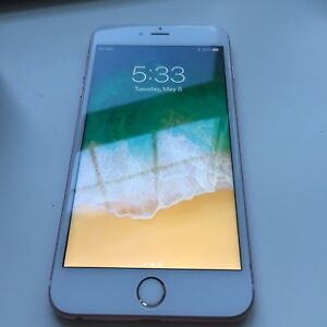 IPHONE 6S PLUS ROSE GOLD 64GB LOCKED TO ROGERS