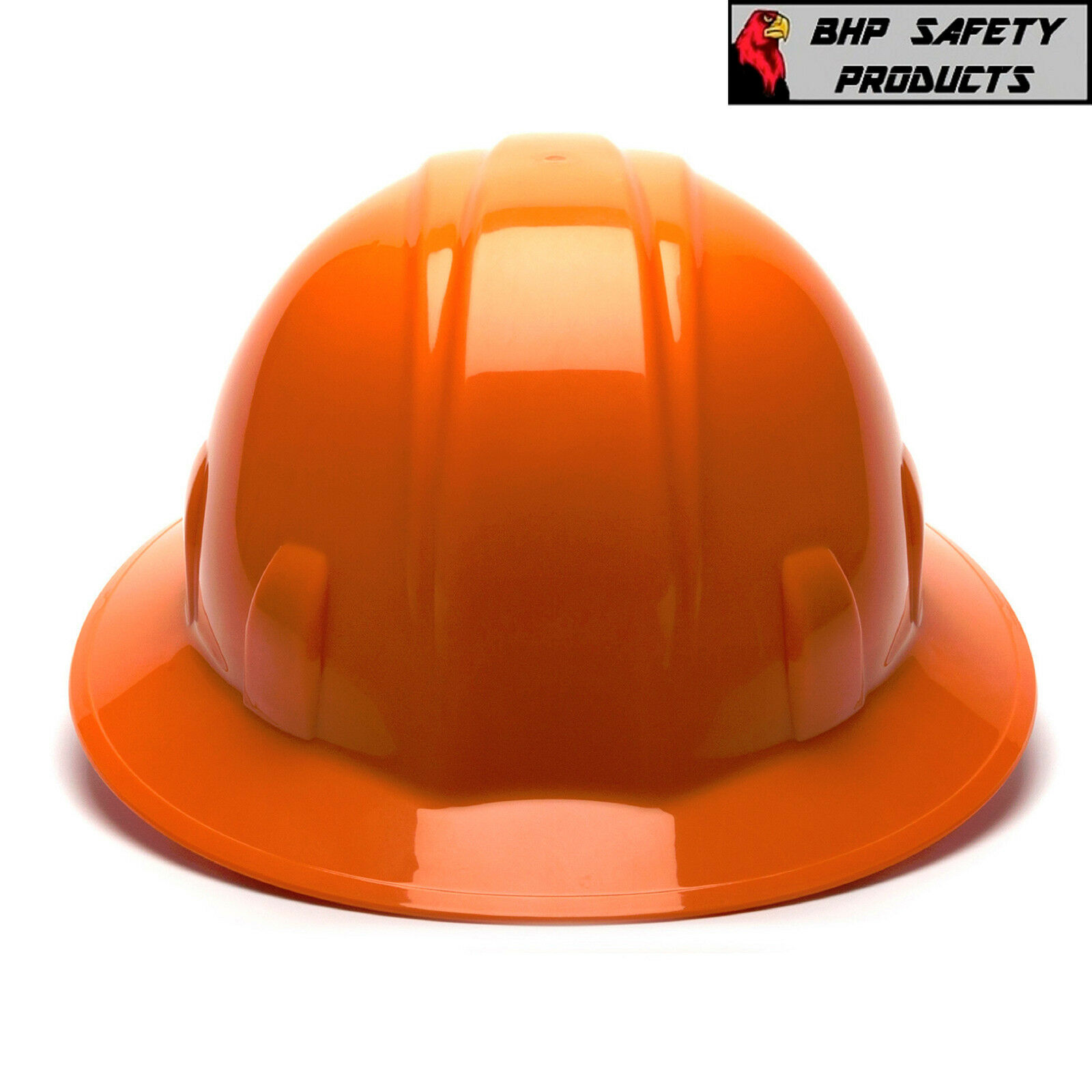 HARD HAT FULL BRIM PYRAMEX 4 POINT RATCHET SUSPENSION CONSTRUCTION SAFETY ANSI