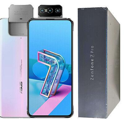 BNIB ASUS Zenfone 7 Pro 256GB ZS671KS Dual-SIM White Factory Unlocked 5G...