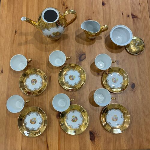 Porcelain Tea Set A.S.& C Bavaria