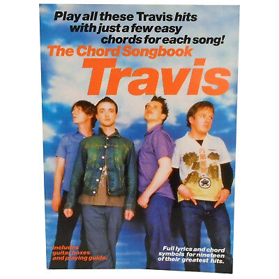 TRAVIS The Guitar Chord Songbook 19 Hit Songs Driftwood Turn Scottish Band Book