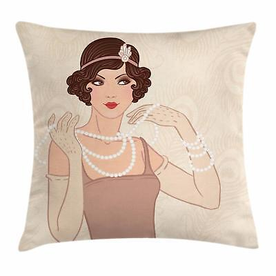 Old Hollywood Decor (Old Hollywood Throw Pillow Cases Cushion Covers Ambesonne Home Decor 8)
