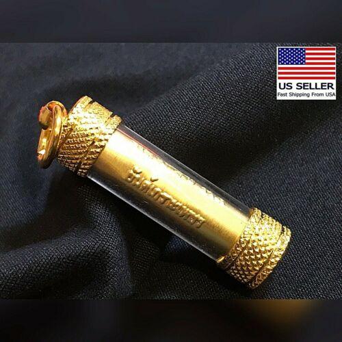 BEAUTIFUL TAKRUT PENDANT THAI AMULET TALISMAN PROTECTION #115- US SELLER -