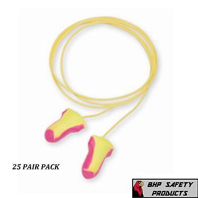 Howard Leight Laser Lite Ll-30 Corded Foam Ear Plugs Nrr32 25 Pairs
