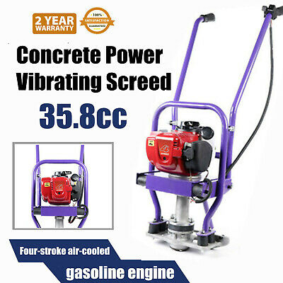 35.8cc Gas Concrete Power Screed Cement 4-stroke Air-cooled Gasoline Engine Gx35