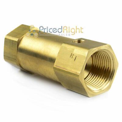 1 X 1 Female Npt In Line Air Compressor Check Valve Inline Brass Compressed