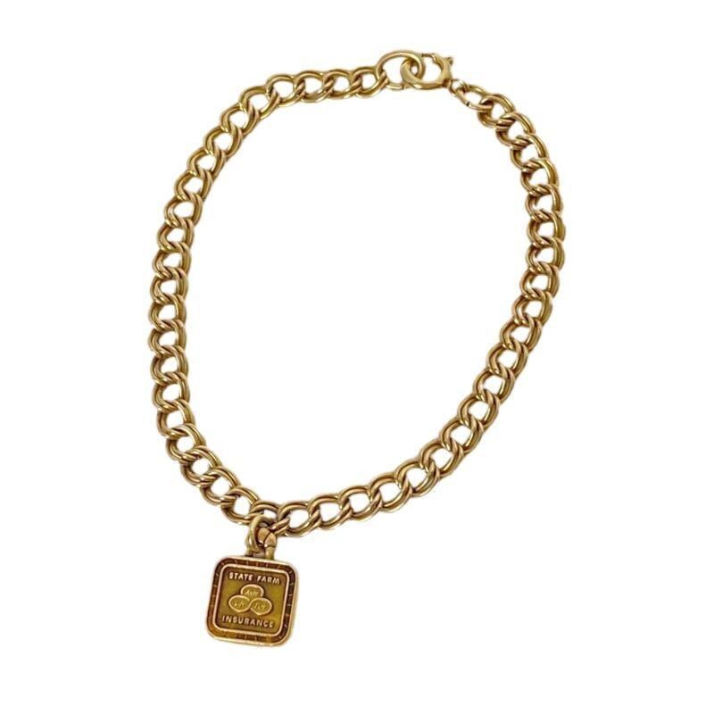 State Farm Insurance Charm Bracelet Vintage