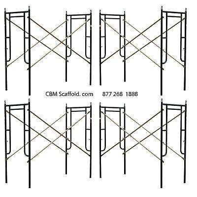 4 Set Of New 3 X 67 X 10 Plastering Masonry Scaffold Frame Set Cbm Scaffold