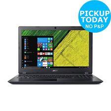 Acer Aspire 3 15.6 Inch AMD E2 1.8GHz 4GB 1TB Windows Laptop - Black