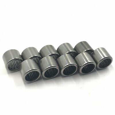 10pcs Hk1718 Hk172318 Needle Roller Bearing Bearings 17 X 23 X 18mm Mms