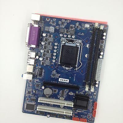 1156 Support (Intel H55 Micro ATX LGA Computer Motherboard VGA HDMI Support LGA 1156/Socket H)
