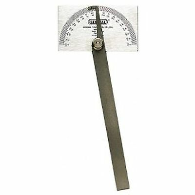 Steel Precision Protractor Gauge Machinist Square Head Protracter Gage Tool New