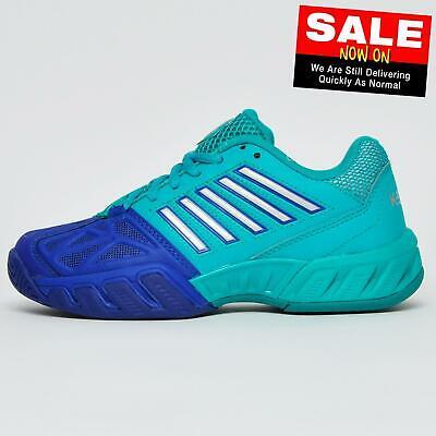 K Swiss Bigshot Light 3 Junior Boys Girls Classic Tennis Court Shoes Trainers