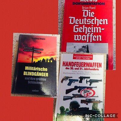 Sammlung Waffen Bücher siehe Fotos **LESEN