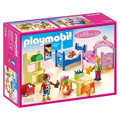 Playmobil Dollhouse Children's Playroom Building Set 5306 NEW Toys Kids
